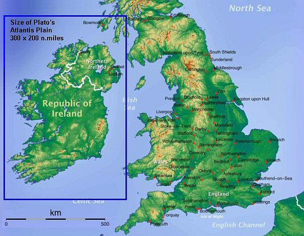 nagy britannia domborzati térkép Atlantisz konteók « Konteó nagy britannia domborzati térkép